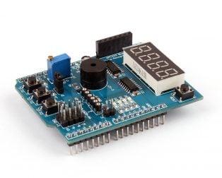 Multifunction Shield For Arduino Uno / Leonardo