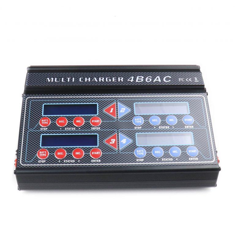 Quattro DC/AC 4B6AC 4 In 1 Multi LiPo Charger