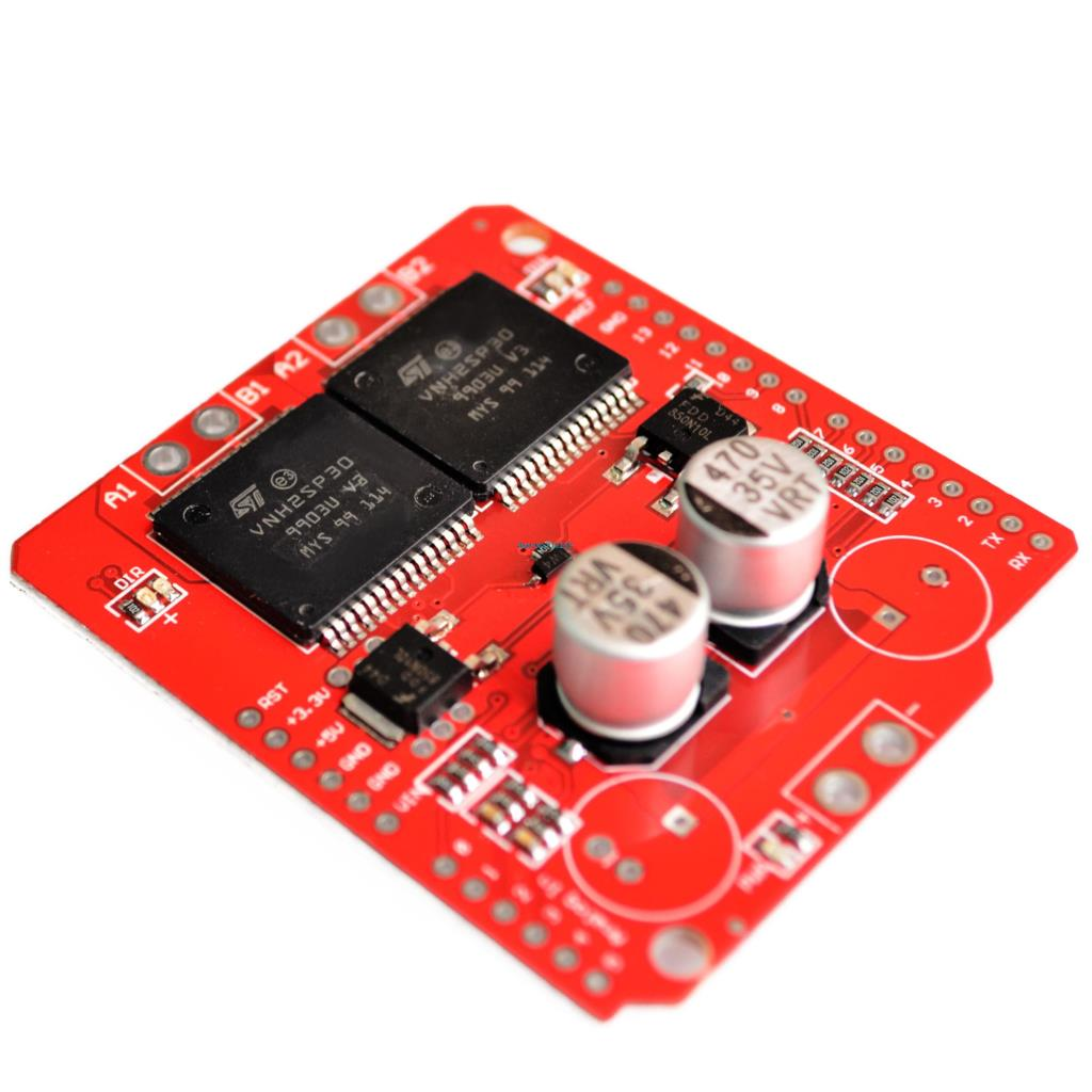 Dual Monster Moto Shield Vnh2sp30 Dc Motor Driver 2x14a Peak 30a Diagram Together With L298 H Bridge Circuit Pin On Hover To Zoom