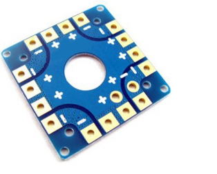 Multirotor ESC Power Distribution Battery Board