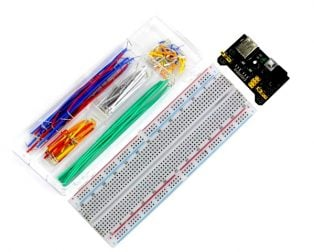 MB102 830 Points Breadboard+Power Supply+140 Jumper Wires Kit