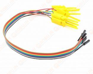 8CH Quality Test Hook Clip Logic Analyzer Test Folder for USB Saleae 24M