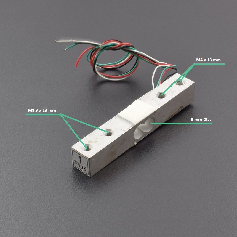 YZC-133 Weighing Load Cell