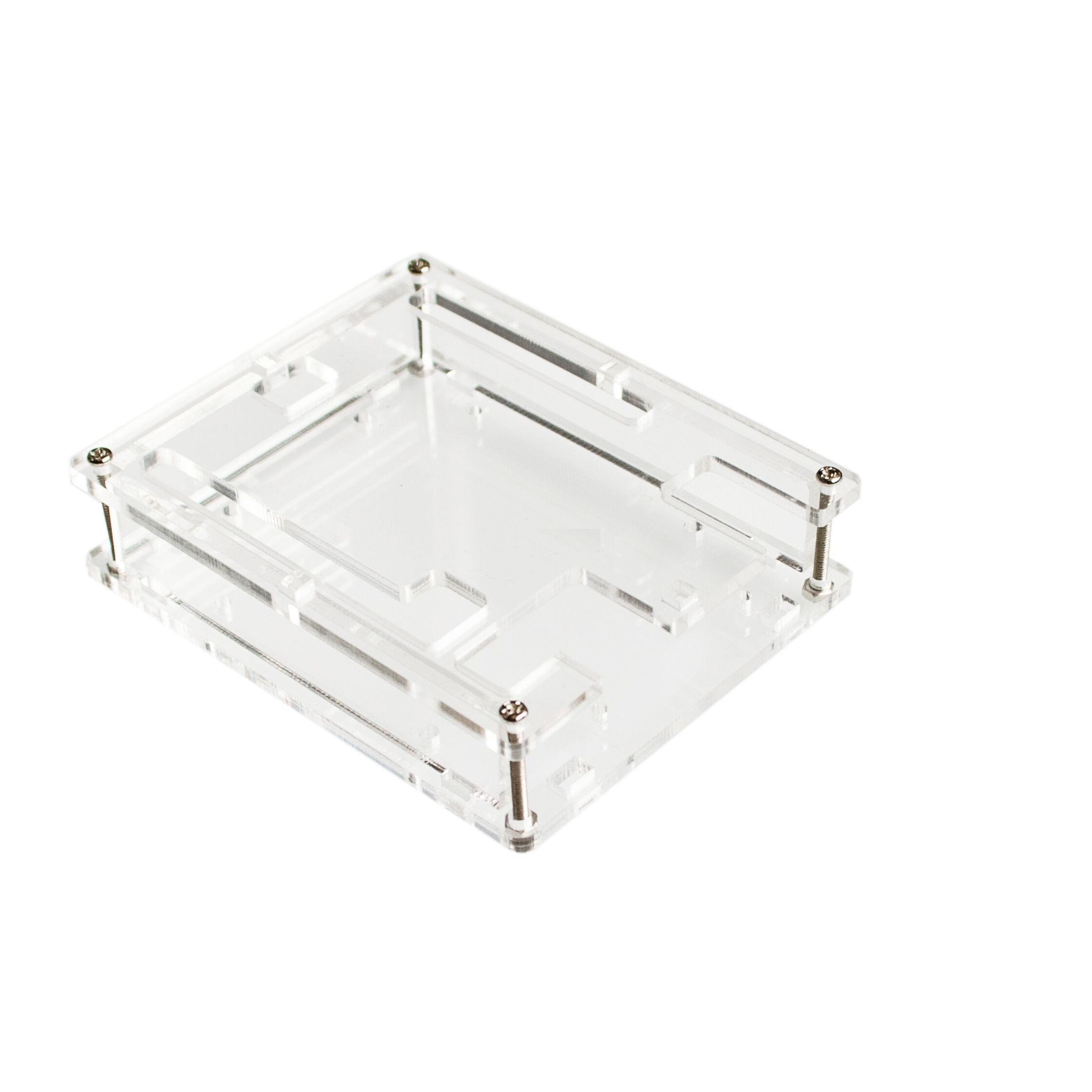 Transparent Acrylic Case Shell Enclosure Gloss Box For Arduino UNO R3