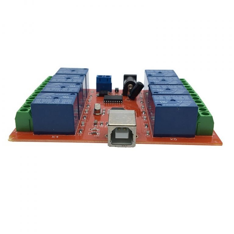 8 Channel 12V Relay Module USB (PC Intelligent) Control Switch