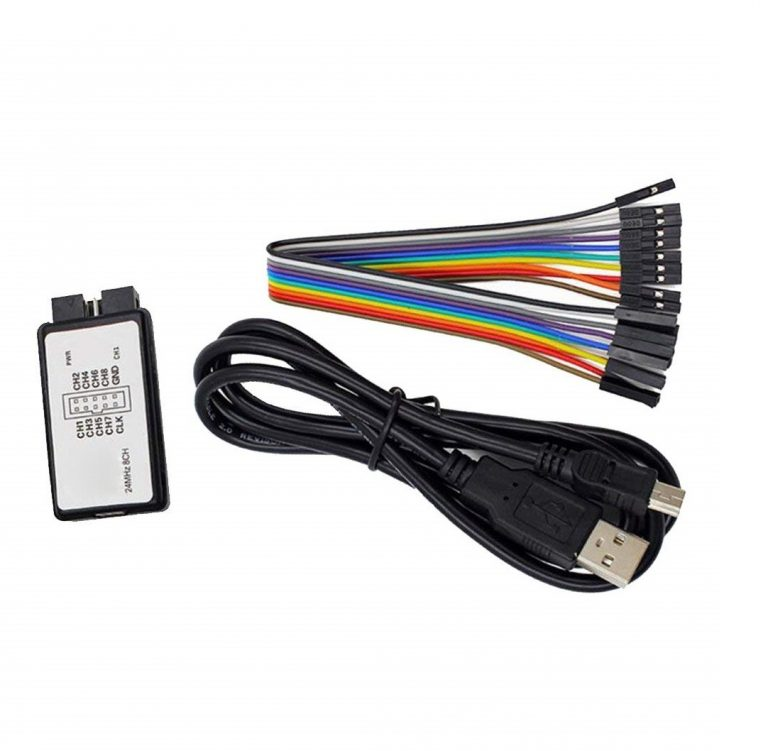 USB Logic Analyze 24M 8CH, MCU ARM FPGA DSP Debug Tool