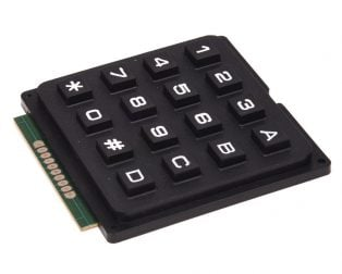 4x4 Matrix 16 Keyboard Keypad
