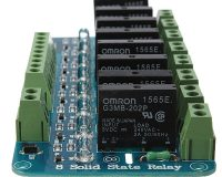 5V 2A 8-Channel SSR G3MB-202P Solid State Relay Module