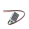 0.28inch 4.5-30V Two Wire DC Voltmeter Red