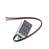 DC 3.6-28V 2 wire Red LED display digital voltage Voltmeter Panel (Robu.in)