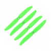 Orange HD Propellers 5030(5X3.0) Glass Fiber Nylon Props Green 2CW+2CCW-2pairs