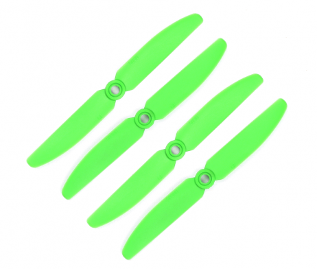 Orange HD Propellers 5030(5X3.0) Glass Fiber Nylon Props Green 2CW+2CCW-2pairs