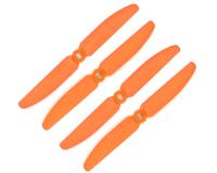 Orange HD Propellers 5030(5X3.0) Glass Fiber Nylon Props Orange 2CW+2CCW-2pairs