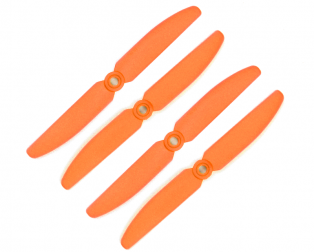 Orange HD Propellers 5030(5X3.0) Glass Fiber Nylon Props Orange 2CW+2CCW-2pairs