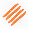 Orange HD Propellers 5040(5X4.0) Glass Fiber Nylon Props Orange 2CW+2CCW-2pairs