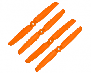 Orange HD Propellers 6030(6X3.0) Glass Fiber Nylon 2CW+2CCW-2pairs Orange