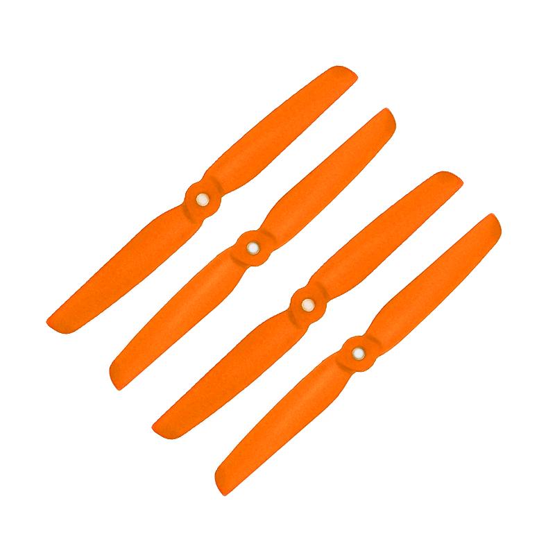 Orange HD Propellers 6030(6X3.0) Glass Fiber Nylon 2CW+2CCW-2pairs Orange