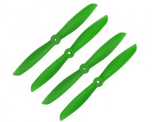 Orange HD Propellers 6045(6X4.5) Glass Fiber Nylon 2CW+2CCW-2pairs Green