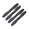 Orange HD Propellers 5045(5X4.5) Glass Fiber Nylon Bullnose Black 2CW+2CCW-2pairs