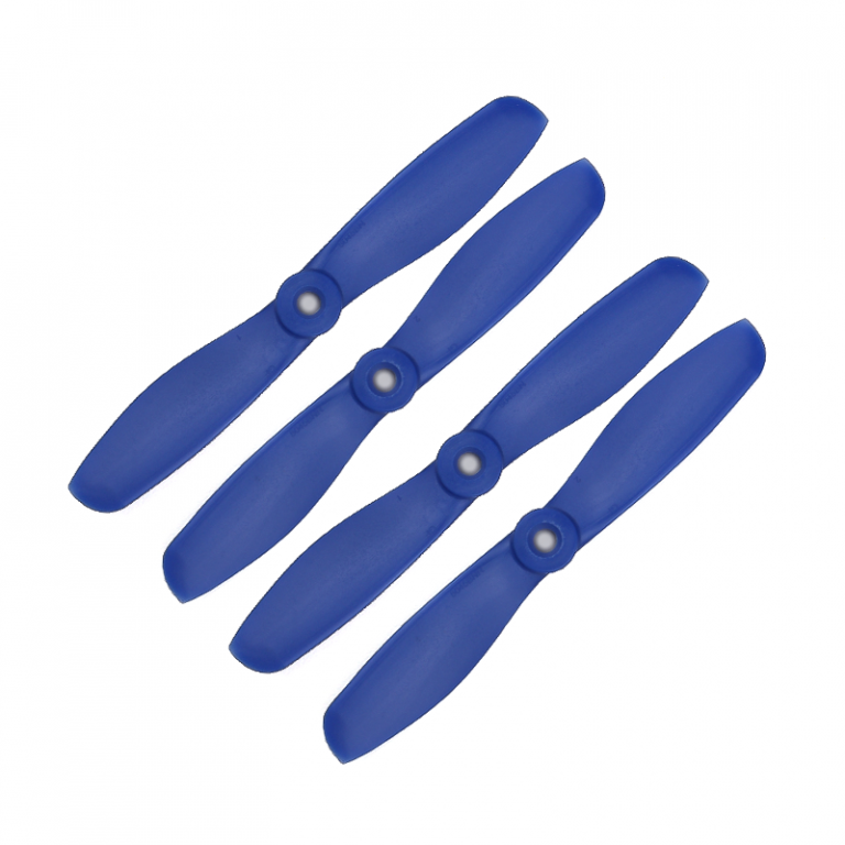 Orange HD Propellers 5045(5X4.5) Glass Fiber Nylon Bullnose 2CW+2CCW-2pairs Dark-blue