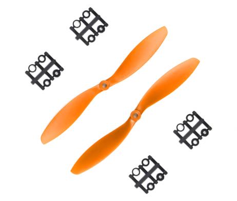 Orange HD Propellers 9047(9X4.7) ABS Orange 1CW+1CCW-1pair