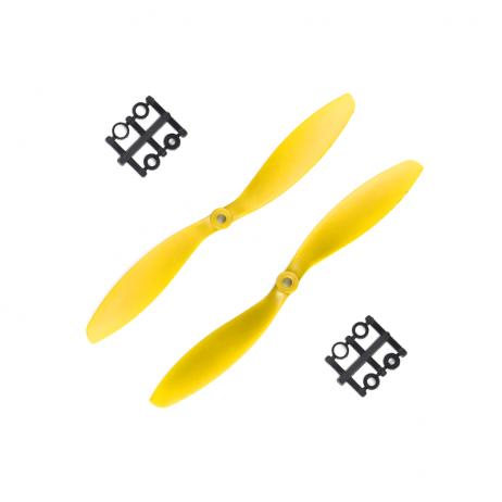 Orange HD Propellers 9047(9X4.7) ABS Yellow 1CW+1CCW-1pair