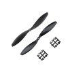 Orange HD Propellers 1147(11X4.7) ABS Black 1CW+1CCW-1pair