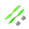 Orange HD Propellers 1147(11X4.7) ABS Green 1CW+1CCW-1pair