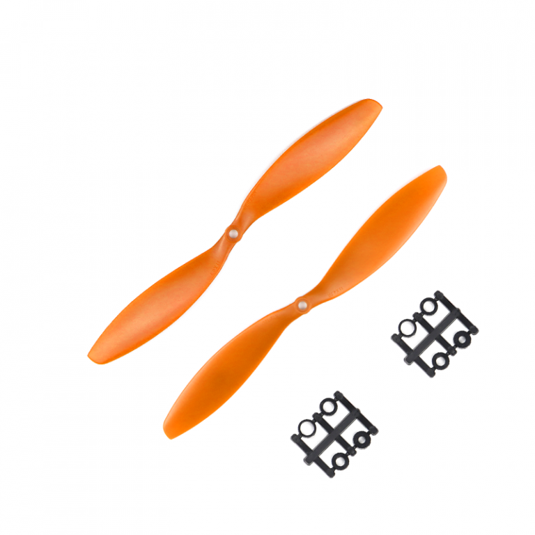 Orange HD Propellers 1147(11X4.7) ABS Orange 1CW+1CCW-1pair