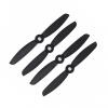 Orange HD Propellers 4045(4X4.5) Carbon Nylon Props Black 2CW+2CCW-2pairs