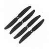 Orange HD Propellers 5030(5X3.0) Carbon Nylon Props 2CW+2CCW-2pairs Black