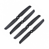 Orange HD Propellers 6030(6X3.0) Carbon Nylon Props 2CW+2CCW-2pairs Black