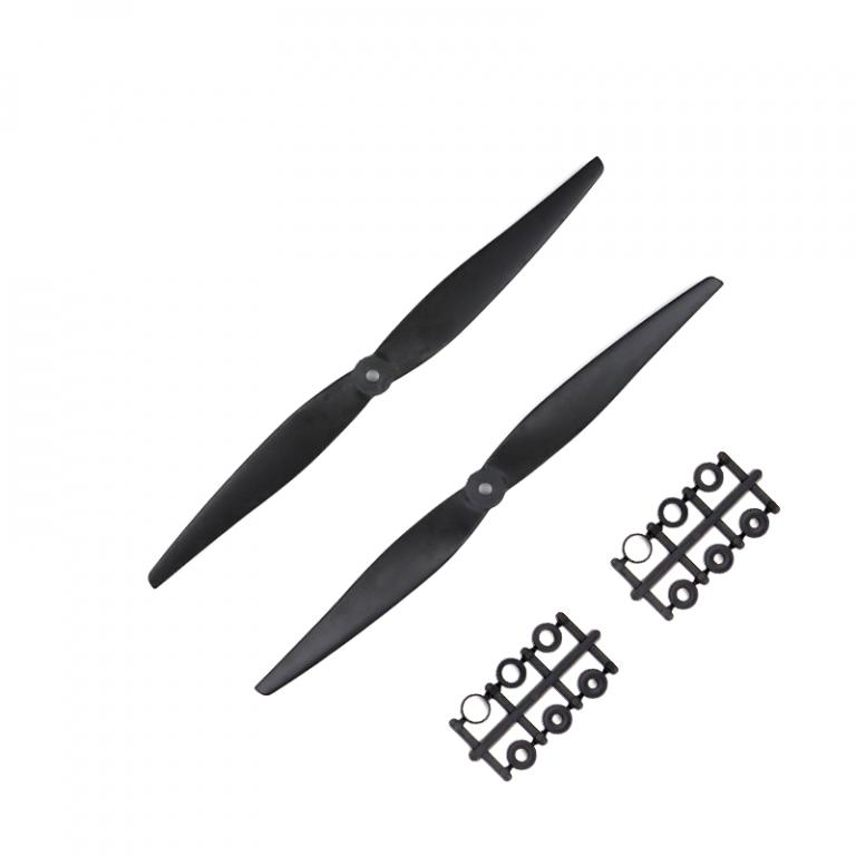 Orange HD Propellers 1150(11X5.0) Carbon Nylon Black 1CW+1CCW-1pair
