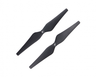 Orange HD Propellers 9443(9X4.3) Carbon Nylon DJI Black 1CW+1CCW-1pair