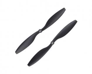 Orange HD Propellers 1045(10X4.5) Carbon Nylon DJI Black 1CW+1CCW-1pair