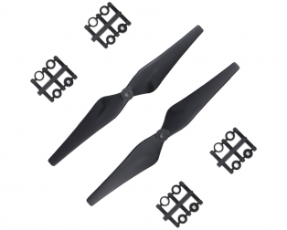 Orange HD Propellers 9443(9X4.3) Glass Fiber Nylon Black 1CW+1CCW-1pair