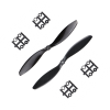 Orange HD Propellers 9047(9X4.7) Carbon Fiber Black 1CW+1CCW-1pair