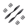Orange HD Propellers 1045(10X4.5) Carbon Fiber Black 1CW+1CCW-1pair