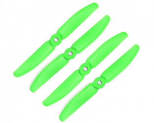 Orange HD Propellers 5040(5X4.0) Glass Fiber Nylon Props 2CW+2CCW-2pairs Green