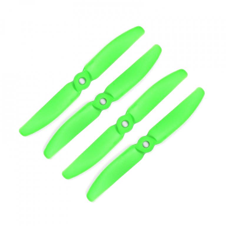 Orange HD Propellers 5040(5X4.0) Glass Fiber Nylon Props 2CW+2CCW-2pairs Green