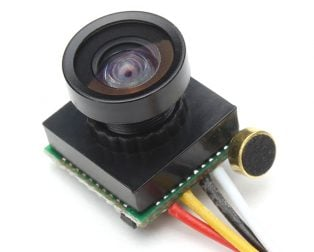 600TVL 170 Degree Mini FPV Camera with Audio