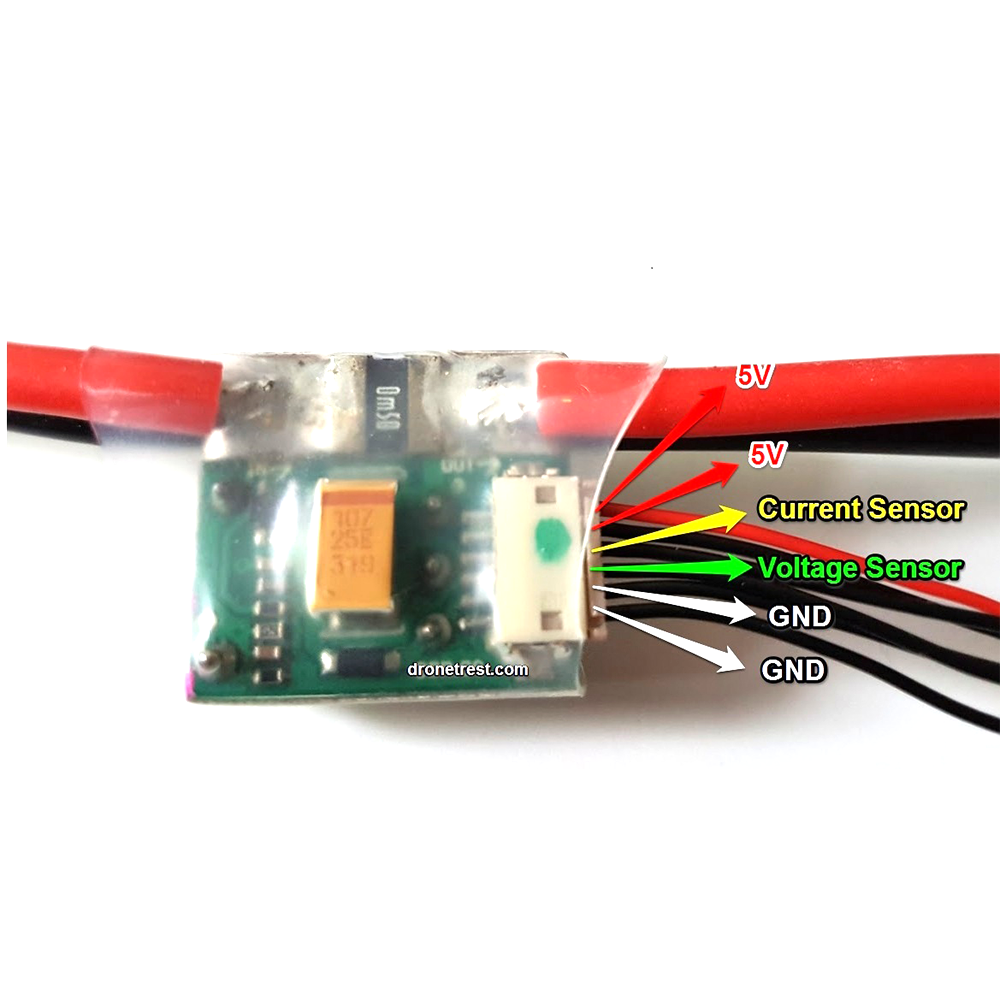 Power Module V1.0 Output BEC 5V 3A with XT60 Plug New FOR APM 2.6 2.8 Pixhawk