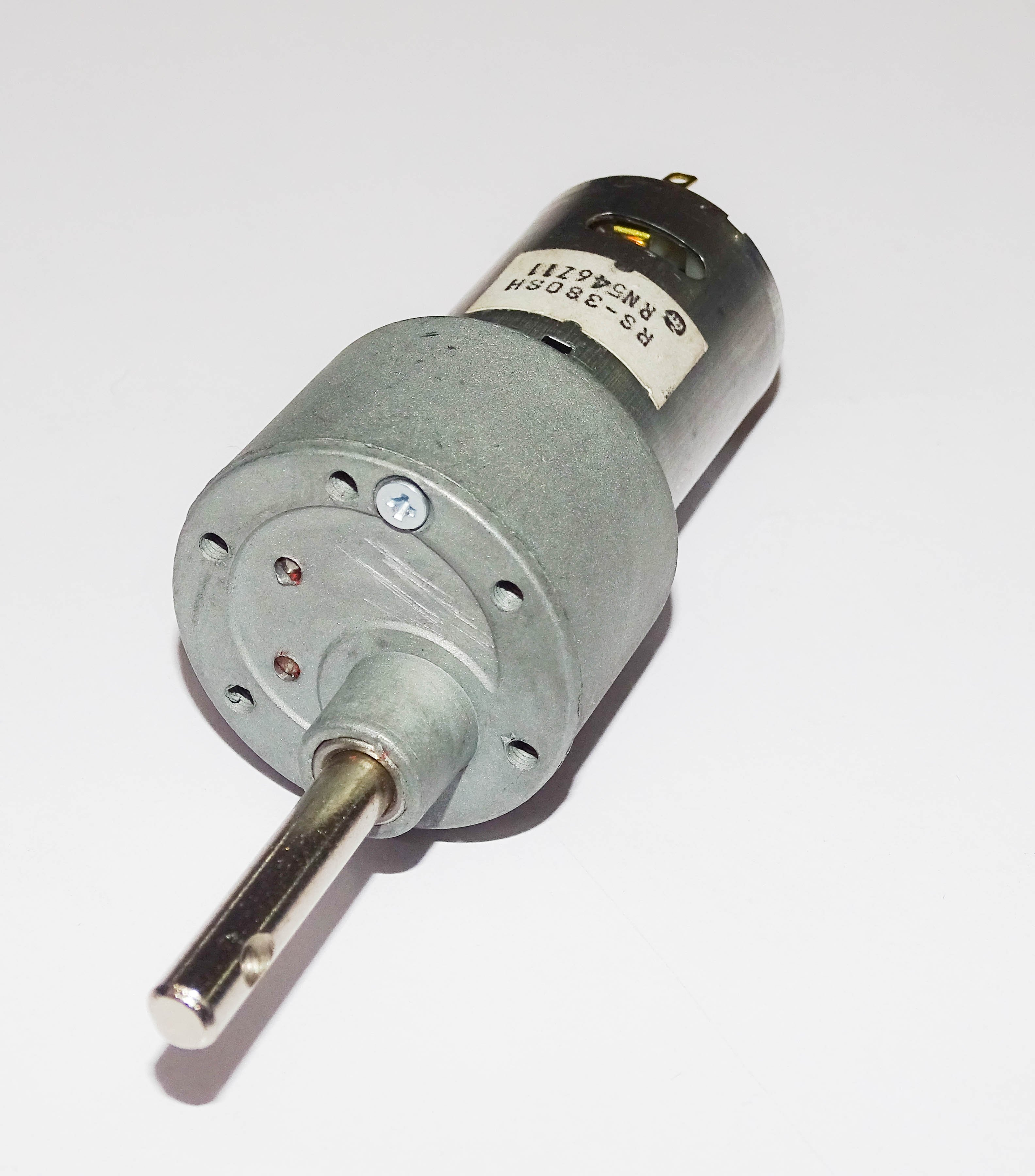 Johnson motor made in india 12 v dc 500 rpm ebay for Gear motor 500 rpm