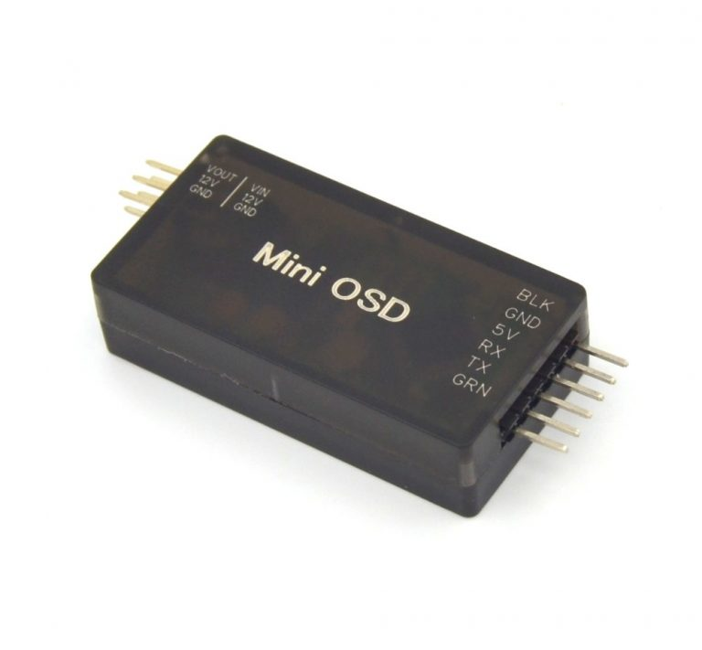 Mini OSD with plastic shell FOR APM 2.6 AND APM 2.8