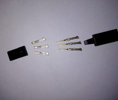 SERVO CONNECTOR - JR - WITH HOOK-10pcs.