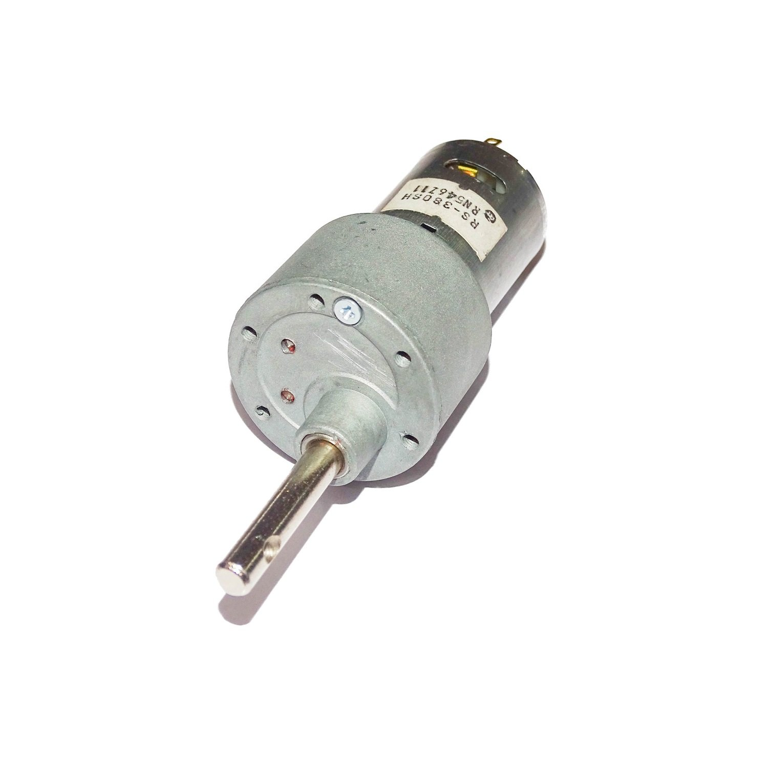 Johnson Side Shaft Geared Motor (Made In India) 12 V DC 150 RPM