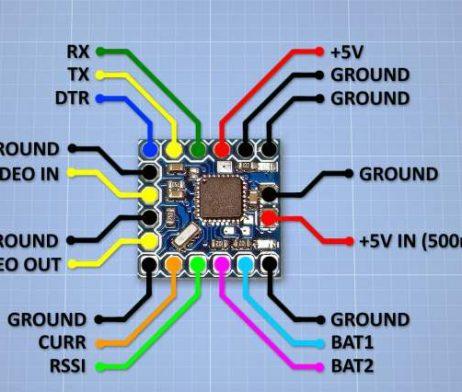 Micro Minim OSD For Racing