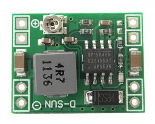 Mini MP1584 DC-DC Adjustable Buck module 3A 4.5~28V Input 0.8~20V Output Step Down Voltage Regulator