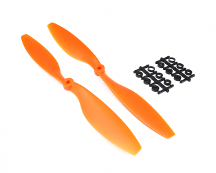 Orange HD Propellers 1045(10X4.5) ABS Orange 1CW+1CCW-1pair