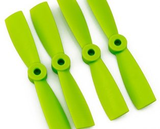 Orange HD Propellers 6040(6X4.0) Glass Fiber Nylon Bullnose 2CW+2CCW-2pairs Green
